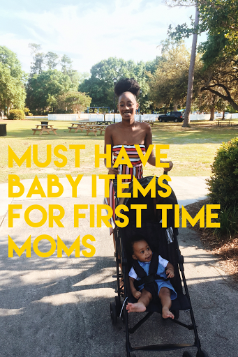 Newborn must haves as a first time mom