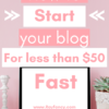 How to start a blog on a budget in 2021